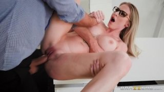 Hot woman Jenna fucked with her boss