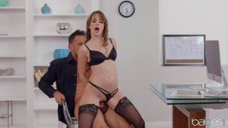 Office hottie Kimmy Granger seducing her hung coworker